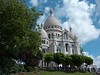 The Sacre Coure in Paris France
